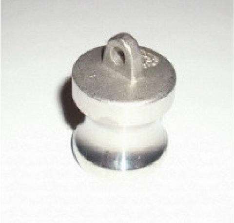 "1/2"" Stainless steel Camlock Dust Plug Quick Disconnect"