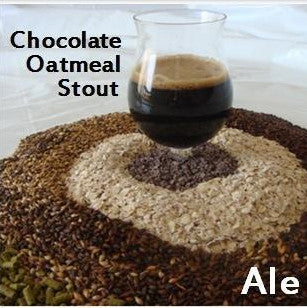 Chocolate Oatmeal Stout Extract Kit with Specialty Grains
