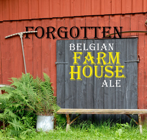Forgotten Belgian Farmhouse AleExtract Kit with Specialty Grains