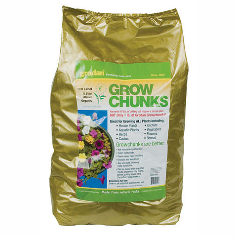 Grodan Grow Chunks 2 Cubic Foot Bag