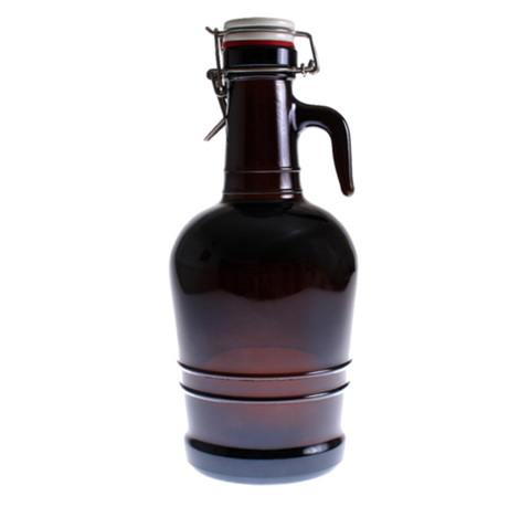 Glass Handle Growler