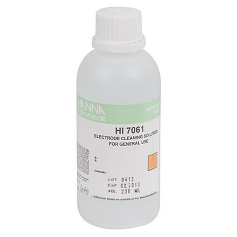 Hanna Electrode Cleaning Solution