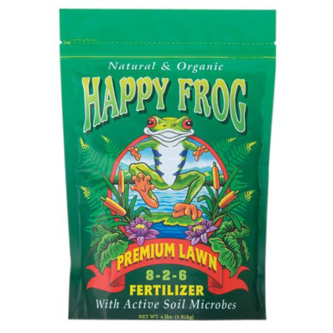 Happy Frog Premium Lawn 4 Pound