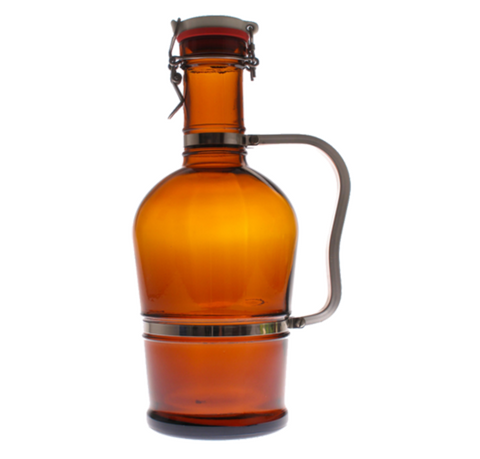 Metal Handle Growler