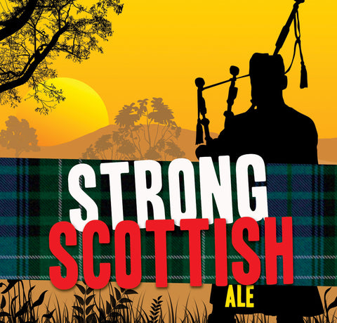 Strong Scottish Ale Extract Kit with Specialty Grains