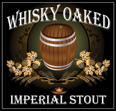 Whisky Oaked Imperial Stout Extract Kit with Specialty Grains