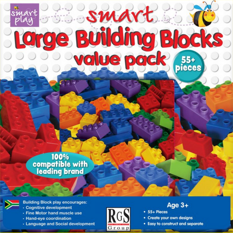 Large building blocks value pack