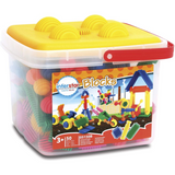 Interstar blocks & rings 50pc bucket