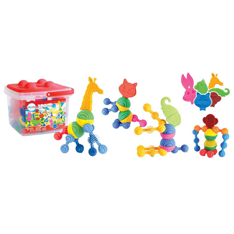 Interstar animals 55pc bucket