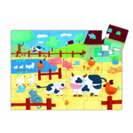 The cows on the farm puzzle