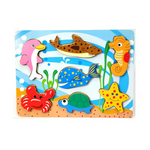 Chunky puzzle: Sea animals