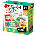 8+1 First puzzle - City