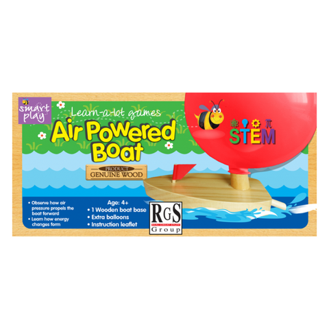 Air powered boat