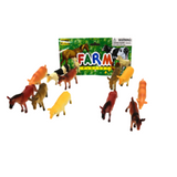 12pc Plastic Animals