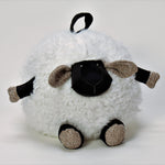 White Round Lamb - Large (33cm)