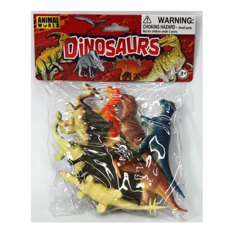 Dinosaur Playset (Set of 8)
