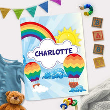 Load image into Gallery viewer, Personalized Interactive Activity Book For Toddlers - Rainbow Theme Cover