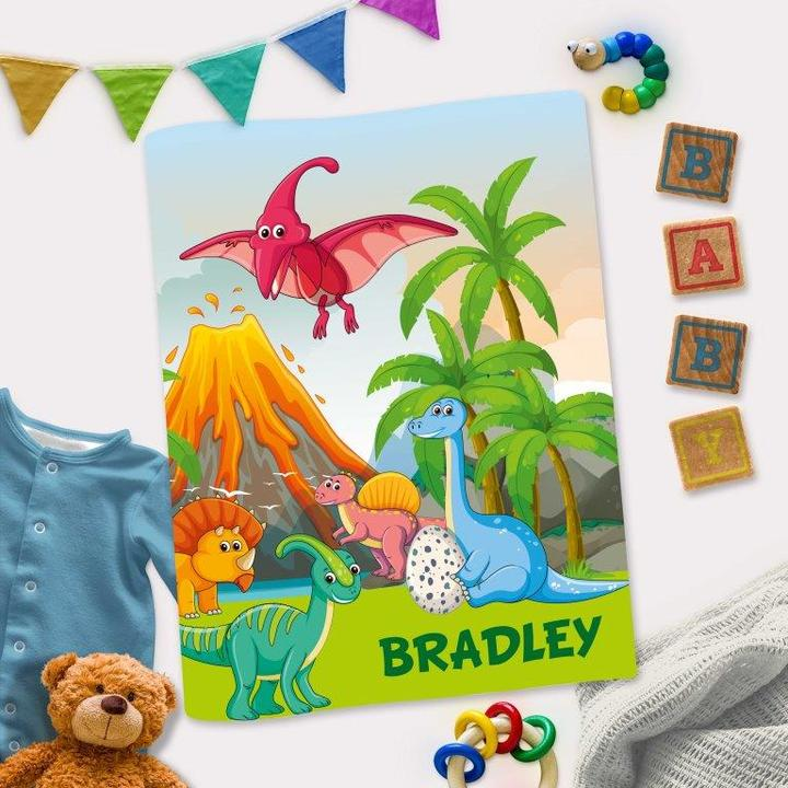 Personalized Interactive Activity Book For Toddlers - Dinosaur Theme Cover