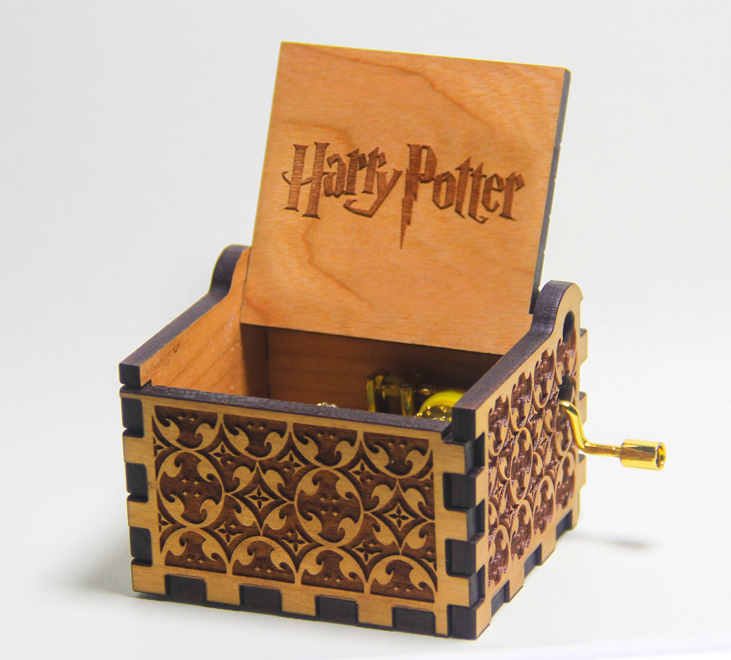Wizard Box - Potter Theme - Music Box 🎶