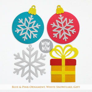 23 Colorful Felt Ornaments for Christmas - 🎅
