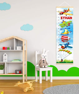 Personalized Air Transport Growth Chart