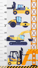 Load image into Gallery viewer, Construction Vehicles Growth Chart