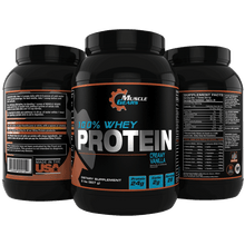 Load image into Gallery viewer, Muscle Gears Whey Protein - Vanilla
