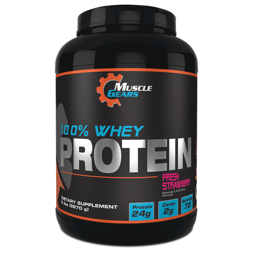 Muscle Gears Whey Protein - Strawberry