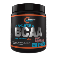 Load image into Gallery viewer, Muscle Gears - Athletes BCAA - Pink Lemonade