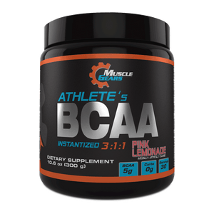 Muscle Gears - Athletes BCAA - Pink Lemonade