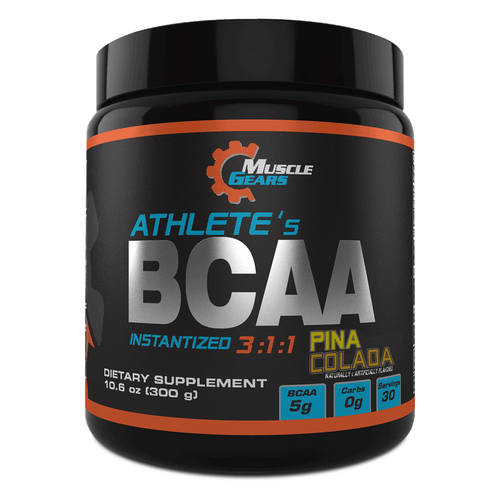 Muscle Gears - Athletes BCAA - Pina Colada