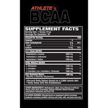 Load image into Gallery viewer, Muscle Gears_BCAA_Supplement_facts