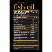Load image into Gallery viewer, red-BIOLAB-Fish-Oil-Supplement-Facts