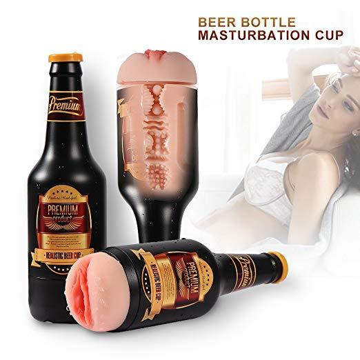 Beer Bottle Masturbation Cup
