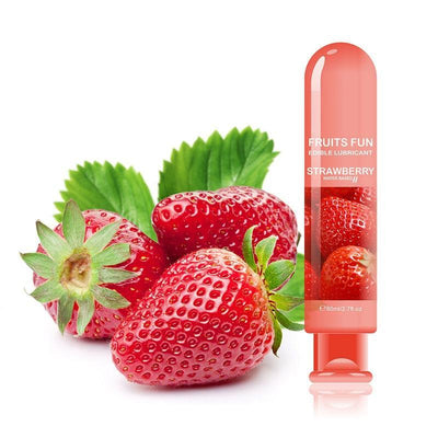 Strawberry Flavored Lubricant 80ML