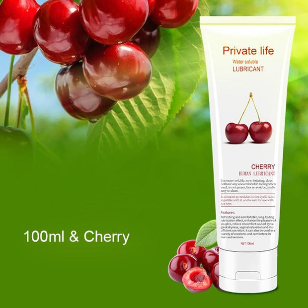 Cherry Water-Based Lubricant