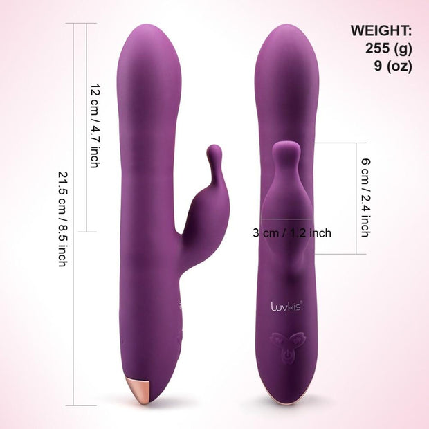 Rotating Rabbit Vibrator