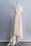 [SOLD] 1970s Edwardian Inspired Lace Gown
