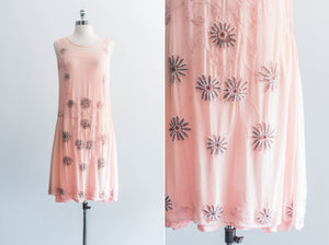 [SOLD] Pink Beaded Flapper Dress