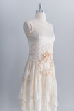 [SOLD] 1920s Silk Flapper Dress