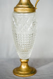 Rare Antique Textured Glass Pitcher