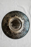 Antique Bas Relief Detailed Metal Tray