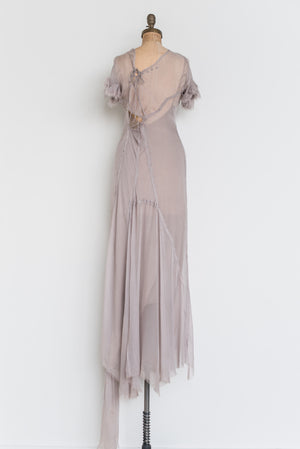 RENTAL Alberta Feretti Muted Purple Gown - S