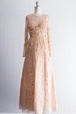 Basix Sequined Embellished Gown - M/L