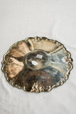 Vintage Scalloped Tray - 9.5""