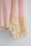 1920s Silk Chiffon Flapper Step-In - S