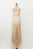 RENTAL Naeem Khan Beaded Silk Gown - S