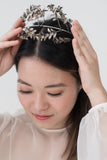 Antique German Metal Tiara