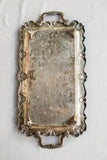 Antique Rectangular Ornate Tray