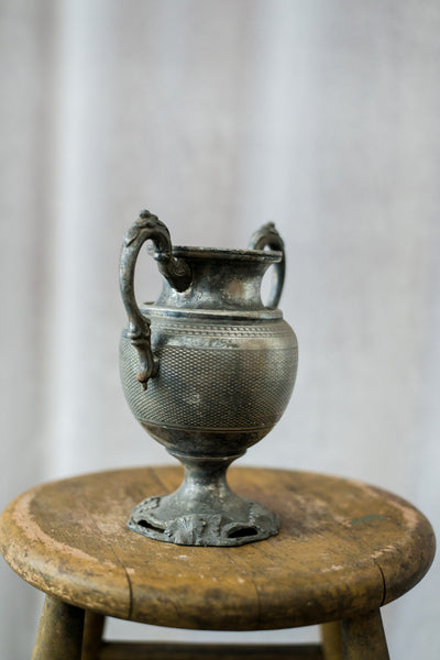 Antique Metal Loving Cup